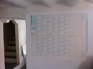 2013 planner at Los Gaquez